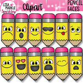 Emoji Emotion Faces Pencil Clipart