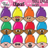 Troll Clipart with Emoji Faces
