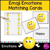 Emoji Emotion Memory Game and Matching activity