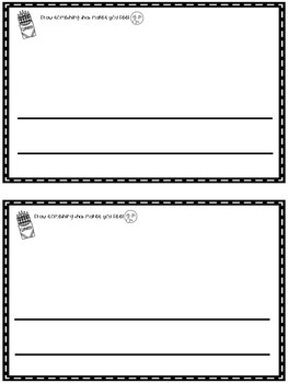 Emoji Emotions: A Differentiated Writing Booklet!