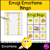 Emoji Emotions Bingo