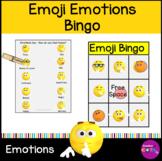 Emoji Emotions Bingo Activity