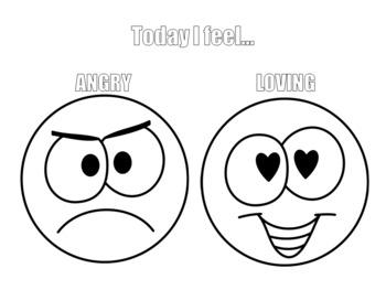 Emoji Emotions Coloring