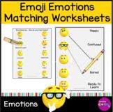 Emoji Emotions Matching worksheet