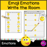 Emoji Emotions Write the Room Activity