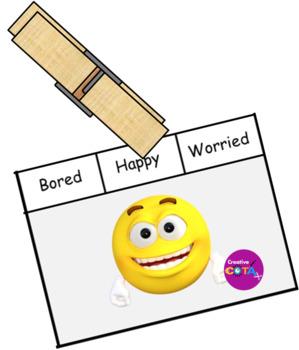 Emoji Emotions clip cards