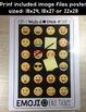 Emoji Exit Ticket Poster and Bulletin Board Set