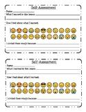 Emoji Exit Ticket (Self-Assessment)