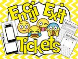 Emoji Exit Tickets