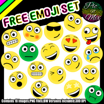 Emoji Clip Art FREE