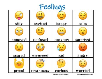 photograph about Emoji Feelings Printable named Emoji Thoughts Poster Worksheets Lecturers Pay back Lecturers