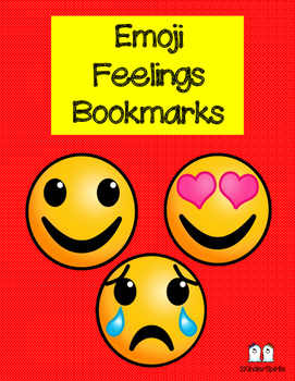 Emoji Feelings Bookmarks