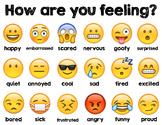 Emoji Feelings Chart