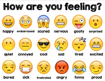 Gutsy image regarding emoji feelings printable