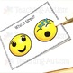 Feelings and Emotions Emoji Task Cards