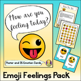 Emoji Feelings Pack — Identifying Emotions Poster and Game