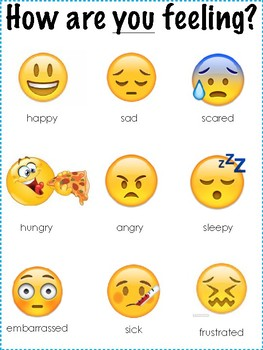 image relating to Emoji Feelings Printable named Emoji Emotions Poster Worksheets Lecturers Pay back Instructors