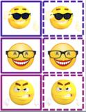 Emoji Feelings matching cards