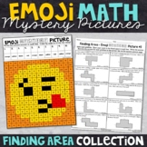 Emoji Finding Area Math Mystery Pictures