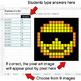Emoji: Fractions of a Set - Google Sheets Pixel Art