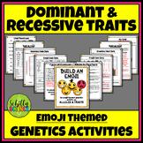 Dominant and Recessive Traits - Build an Emoji Genetics