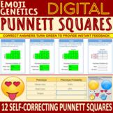 Emoji Genetics: Digital Punnett Squares - SELF-CORRECTING
