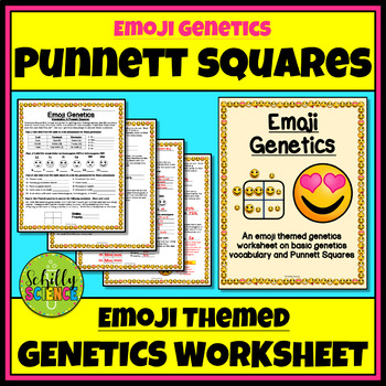 Punnett Square Worksheets Teachers Pay Teachers