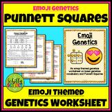 Emoji Punnett Square Worksheet - Google Links Added