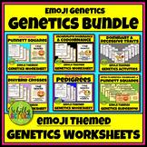 Emoji Genetics Worksheet Bundle