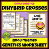 Emoji Genetics Worksheet (Dihybrid Crosses)