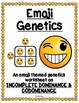 Emoji Genetics Worksheet (Incomplete Dominance & Codominance)