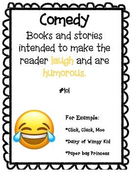 Emoji Genre Posters {Growing Bundle}