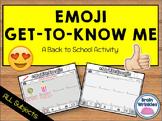 Emoji Get to Know Me Activity