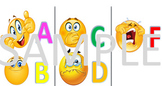 Emoji Grading A-F Grading Scale Reference for students