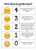 Emoji Grading Rubric