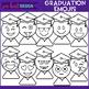 Emoji Graduation Clip Art {jen hart Clip Art}