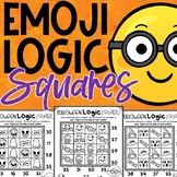 Emoji Halloween Math Logic Puzzles