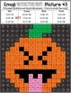 Emoji Halloween Mystery Pictures | Halloween Color by Number