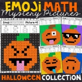 Emoji Fall or Halloween Mystery Pictures | Halloween Color