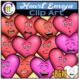 Emoji Heart Clipart FREEBIE