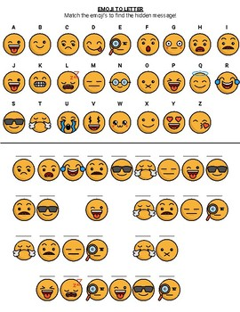 Emoji Hidden Message - Christmas