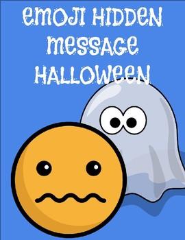 Emoji Hidden Message - Halloween