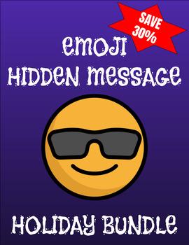 Emoji Hidden Message Holiday Bundle