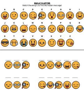 Emoji Hidden Message - Olympics