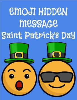 Emoji Hidden Message - Saint Patrick's Day