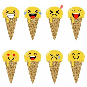 Emoji Ice Cream By Pauseability Teachers Pay Teachers