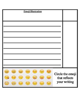 Emoji Illustration & Writing Activity