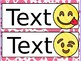 Emoji Inspired Nameplates/Labels