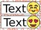 Emoji Inspired Nameplates/Labels