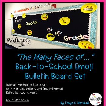 Emoji Interactive Bulletin Board: The Many Faces Of...